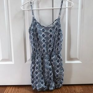 Romper with design in back